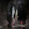 Blauhöhlensystem: Otrivin, beim ersten Biwak; Foto: Andreas Kücha (c) Arge Blautopf