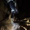 Falkensteiner Höhle 15-07-17 Höhlenbaumeister im freien Fall - Foto: Georg Taffet und Mike Moldovan