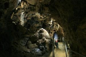 Die Sontheimer Höhle wurde mit einer LED-Beleuchtung ausgestattet.